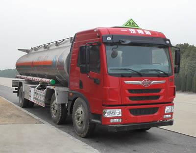 程力威牌CLW5250GYYLC5型铝合金运油车