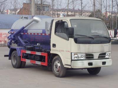 程力威牌CLW5072GXWT5型吸污车