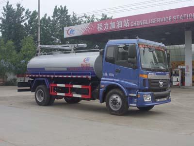 程力威牌CLW5160GXEB5型吸粪车