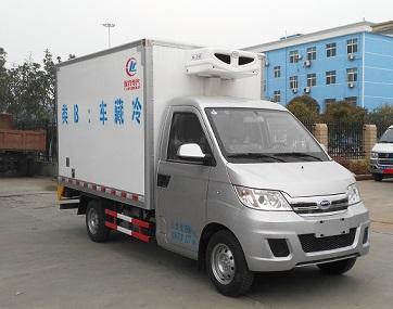 程力威牌CLW5020XLCQ5型冷藏车