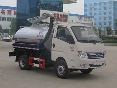 程力威牌CLW5040GXEB5型吸粪车