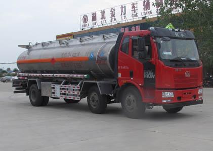 程力威牌CLW5251GYYLC5型铝合金运油车