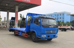 程力威牌CLW5090TPBT5型平板运输车