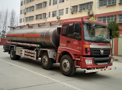 程力威牌CLW5250GYYLB5型铝合金运油车