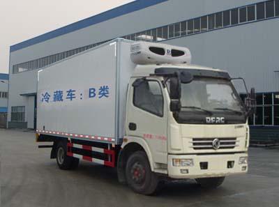 程力威牌CLW5080XLC5型冷藏车