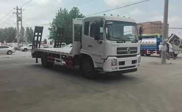 程力威牌CLW5160TPBE5型平板运输车