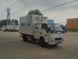 程力威牌CLW5042XLCJ5型冷藏车