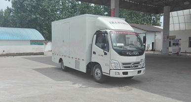 程力威牌CLW5046XXCB5型宣传车