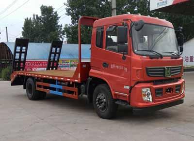 程力威牌CLW5160TPBLH5型平板运输车