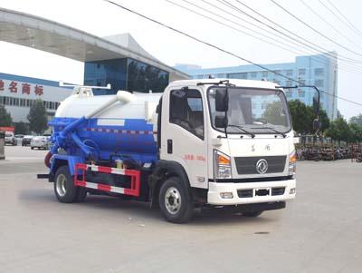 程力威牌CLW5070GXWE5型吸污车