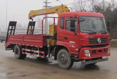 程力威牌CLW5180JSQ5型随车起重运输车