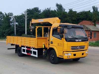 程力威牌CLW5090JSQE5型随车起重运输车