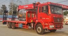 程力威牌CLW5250JSQS5型随车起重运输车