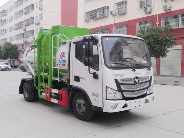 程力威牌CLW5040TCAB6型餐厨垃圾车