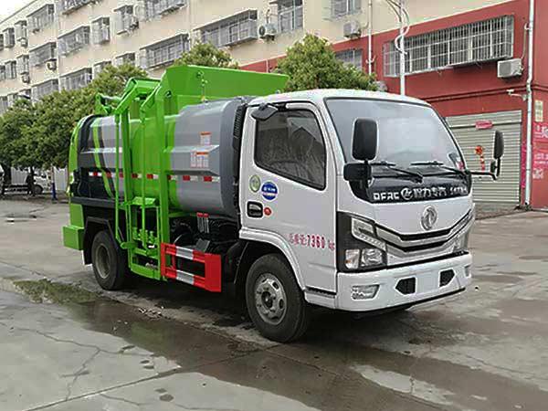 程力威牌CLW5071TCA6型餐厨垃圾车
