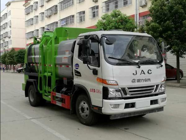 程力威牌CLW5081TCAH6型餐厨垃圾车