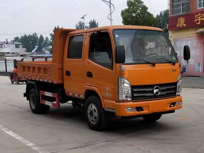 程力威牌CLW5040ZLJK5型自卸式垃圾车