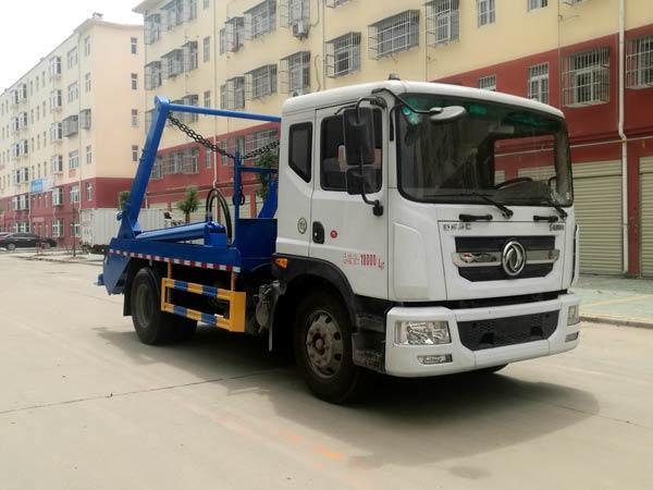 程力威牌CLW5180ZBS6型摆臂式垃圾车