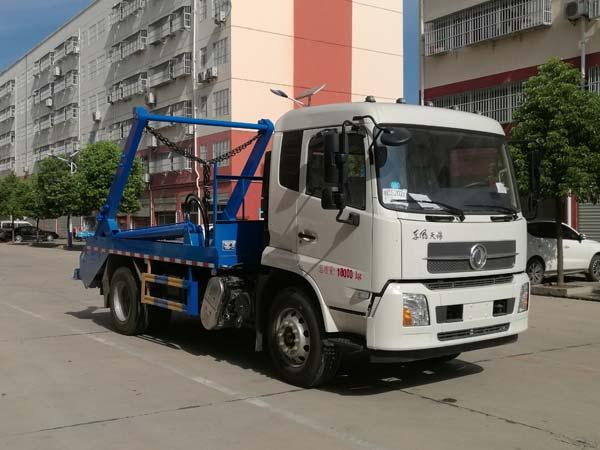 程力威牌CLW5180ZBSD6型摆臂式垃圾车