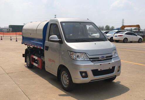 程力威牌CLW5020ZXLRL6型厢式垃圾车