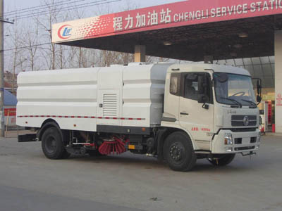 程力威牌CLW5161TXSD5型洗扫车