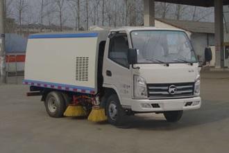 程力威牌CLW5040TSLK5型扫路车