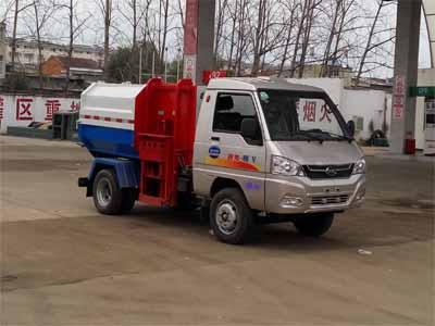 程力威牌CLW5031ZZZK5型自装卸式垃圾车