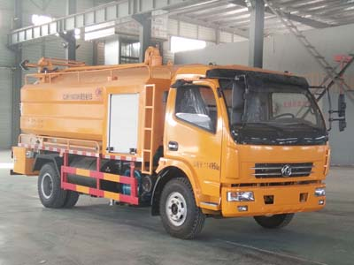 程力威牌CLW5116GQW5型清洗吸污车