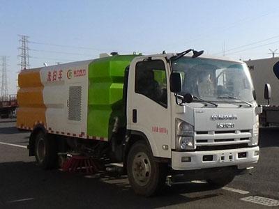 程力威牌CLW5100TXSQ5型洗扫车
