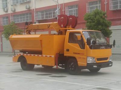 程力威牌CLW5060TQYJ5型清淤车