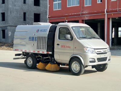 程力威牌CLW5030TSLS5型扫路车
