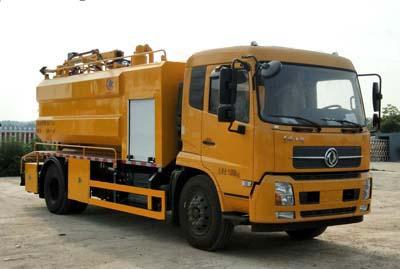程力威牌CLW5166GQWD5型清洗吸污车