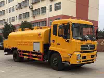 程力威牌CLW5160GQWD5型清洗吸污车