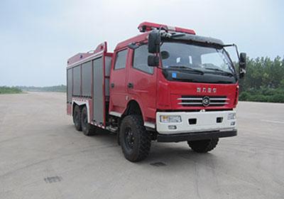 程力威牌CLW5120GXFGL35型干粉水联用消防车