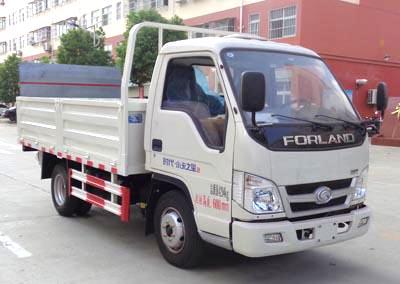 程力威牌CLW5040CTYB5型桶装垃圾运输车