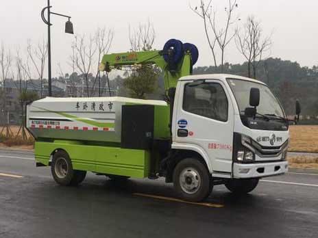程力威牌CLW5075TQYD6型清淤车
