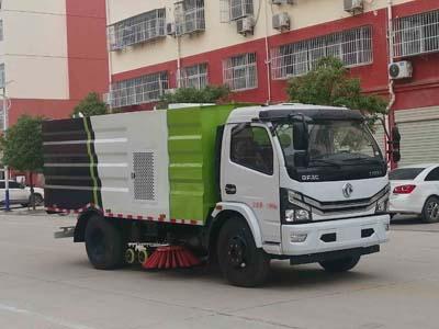 程力威牌CLW5120TXS6型洗扫车