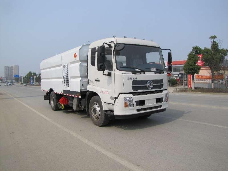 程力威牌CLW5180TXSHL6型洗扫车