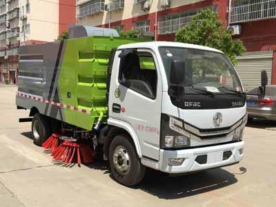 程力威牌CLW5071TSL6型扫路车