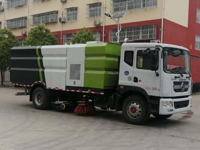 程力威牌CLW5180TXS6型洗扫车