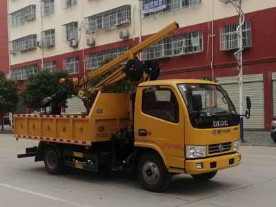程力威牌CLW5070TQY6型清淤车