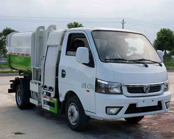 程力牌CL5040ZZZBEV型纯电动自装卸式垃圾车