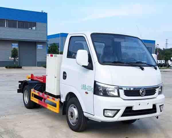程力牌CL5041ZXXBEV型纯电动车厢可卸式垃圾车
