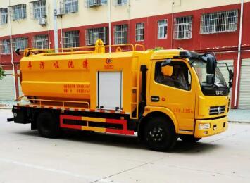 程力威牌CLW5121GQW6型清洗吸污车