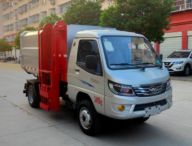 程力威牌CLW5037ZZZZB6型自装卸式垃圾车