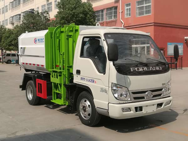 程力威牌CLW5040ZZZB6型自装卸式垃圾车