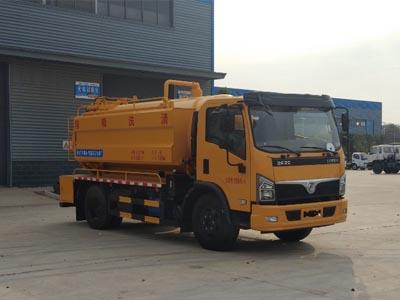 程力牌CL5120GQWZH6型清洗吸污车