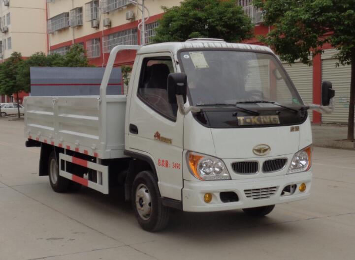 程力威牌CLW5037CTYZB6型桶装垃圾运输车
