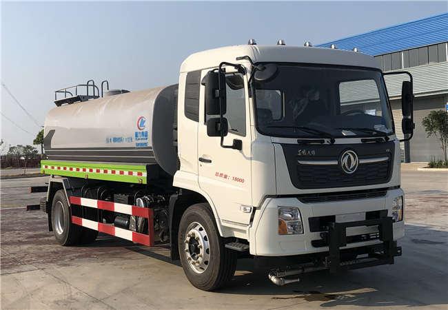程力牌CL5180GQXDF6型护栏清洗车