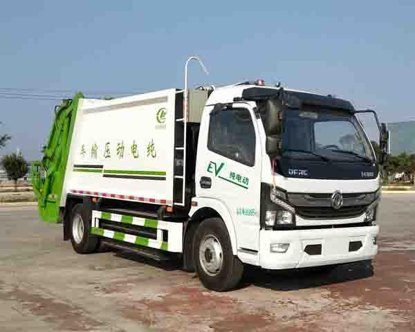 程力牌CL5091ZYSBEV型纯电动压缩式垃圾车